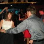 daughter and father love to dance