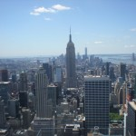 great view from top of the rock.. Empire State Buildng