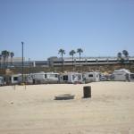 RV Park at Dockweiler Beach LA